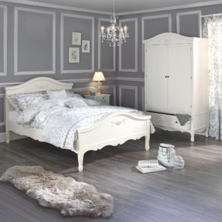 An Image of Toulouse Ivory Bedstead White