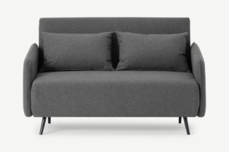 An Image of Hettie Small Sofa Bed, Marl Grey