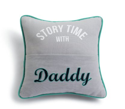 An Image of Argos Home Daddy Story Time Cushion