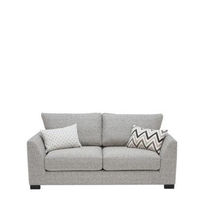 An Image of Milford 2 Seater Fabric Sofa Vegas Zinc