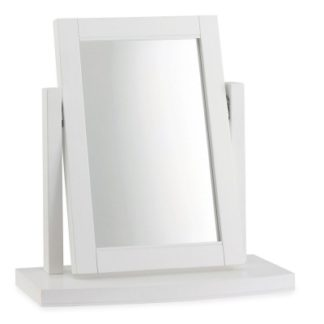 An Image of Carrington Vanity Mirror White