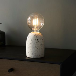 An Image of Chatom Table Lamp White