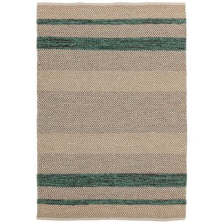 An Image of Fields Rug Emerald