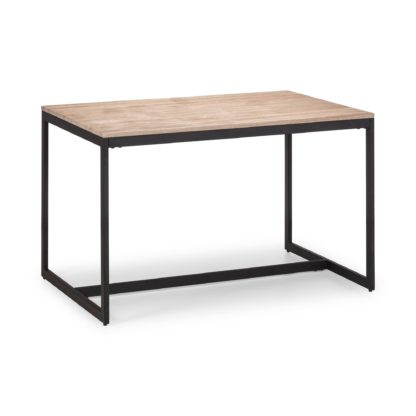 An Image of Tribeca Dining Table Black