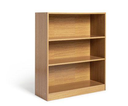 An Image of Habitat Maine 2 Shelf Small Bookcase - White