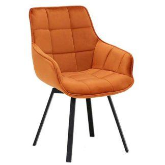 An Image of Jasper Dining Chair Orange