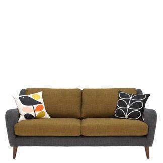 An Image of Orla Kiely Fern Large Sofa