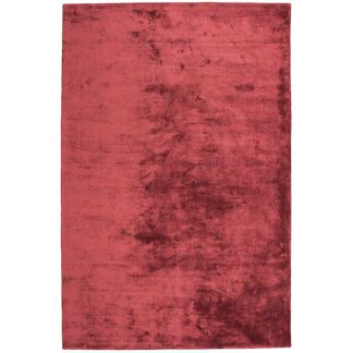 An Image of Katherine Carnaby Chrome Hand Woven Rug Claret