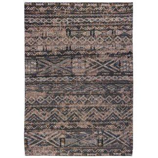 An Image of Antiquarian Kilim Black Rabat Rug