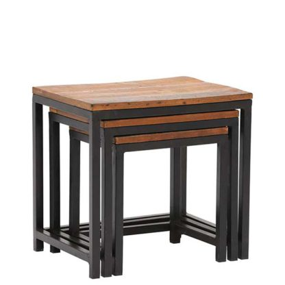 An Image of Little Tree Furniture Mary Rose Nest of 3 Tables