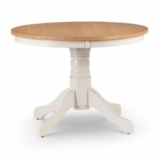 An Image of Davenport Round Pedestal Table Natural