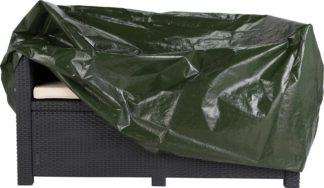 An Image of Argos Home Rattan Garden Chair Cover - Set of 2