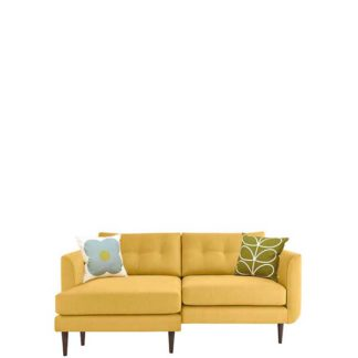 An Image of Orla Kiely Linden Large Chaise Sofa