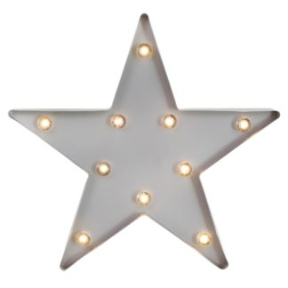 An Image of Star Shaped Grey Light Grey
