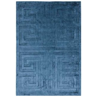 An Image of Kingsley Rug Blue