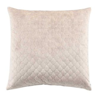 An Image of Cream Quilted Cushion