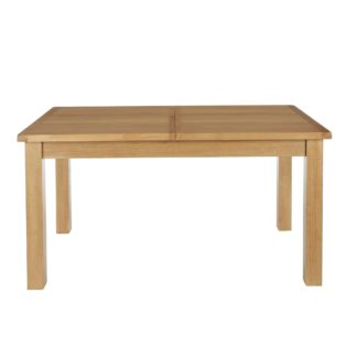 An Image of Sherbourne Oak Extending Dining Table Natural