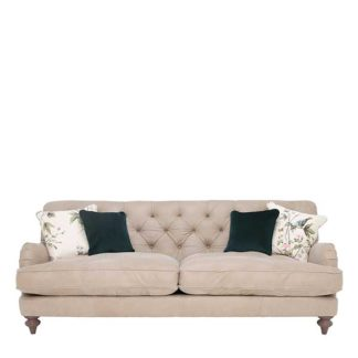 An Image of Windermere Leather Large Sofa