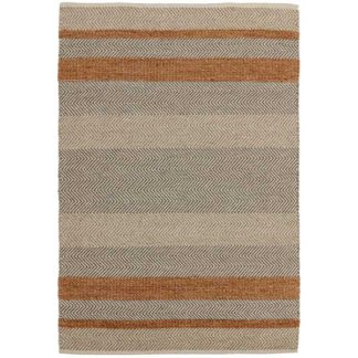 An Image of Fields Rug Coral