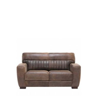An Image of New Missano Leather Loveseat