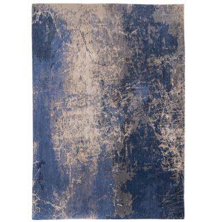 An Image of Mad Men Cracks Rug Abyss Blue