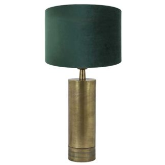 An Image of Antique Bronze Table Lamp