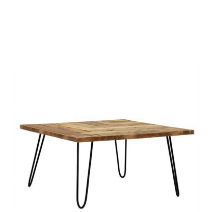 An Image of Winnie Reclaimed Square Coffee Table