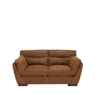 An Image of New Marnie Leather Loveseat