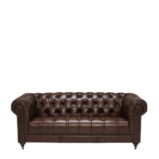 An Image of Ullswater 3 Seater Chesterfield Sofa