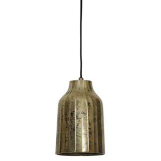 An Image of Medium Antique Gold Hanging Lamp