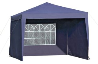 An Image of Argos Home 3m x 3m Pop Up Garden Gazebo with Side Panels