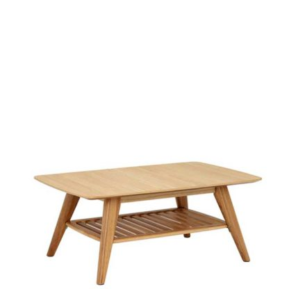 An Image of Lund Oak Coffee Table