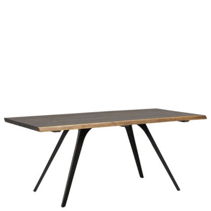 An Image of Vega Solid Oak Dining Table