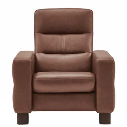 An Image of Stressless Wave High Back Chair Leather
