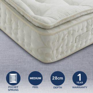 An Image of Signature Medium Pillow Top 2000 Pocket Mattress Natural