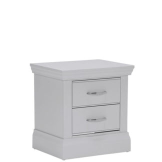 An Image of Willersey 2 Drawer Bedside Chest Grey
