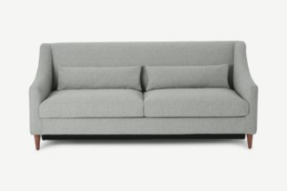 An Image of Herton 3 Seater Sofa Bed, Mountain Grey