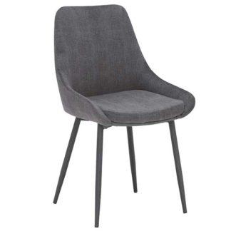 An Image of Emmett Dining Chair Grey