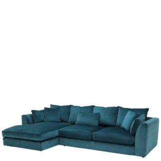 An Image of Harrington Large Left Hand Facing Chaise Sofa