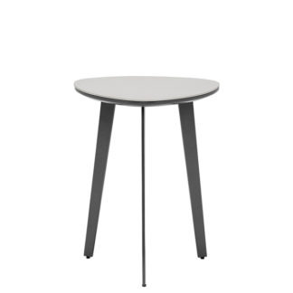 An Image of Avory Ceramic Side Table Taupe