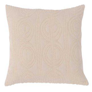 An Image of Woven Cushion Cream