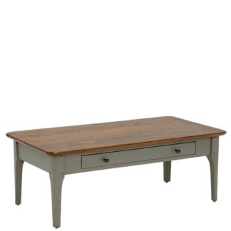 An Image of Maison 1 Drawer Coffee Table Albany and Moss Grey