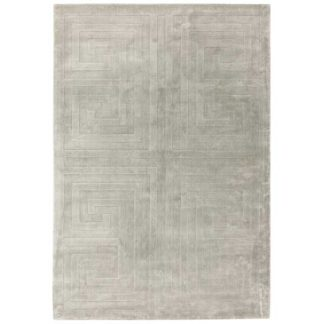 An Image of Kingsley Rug Silver