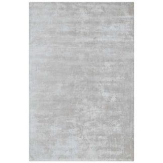 An Image of Katherine Carnaby Chrome Hand Woven Rug Silver