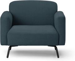 An Image of Toula Armchair, Aegean Blue