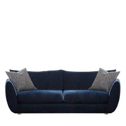 An Image of Big Blue Extra Large Sofa - Barker & Stonehouse