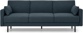An Image of Delphi Click Clack Sofa Bed, Aegean Blue