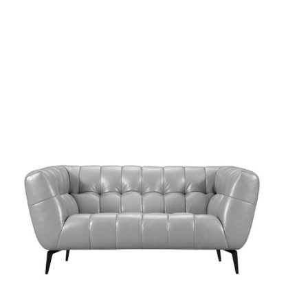 An Image of Azalea 1.5 Seater Leather Sofa - Barker & Stonehouse