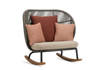 An Image of Vincent Sheppard Kodo Rocking Chair Almond