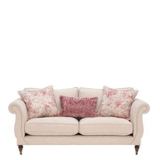 An Image of Drew Pritchard Atherton Standard Back 3 Seater Sofa - Barker & Stonehouse
